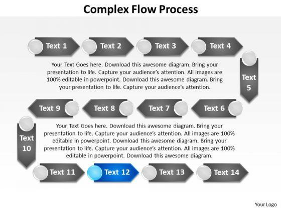 Ppt Multiform Flow Process PowerPoint Presentation Templates
