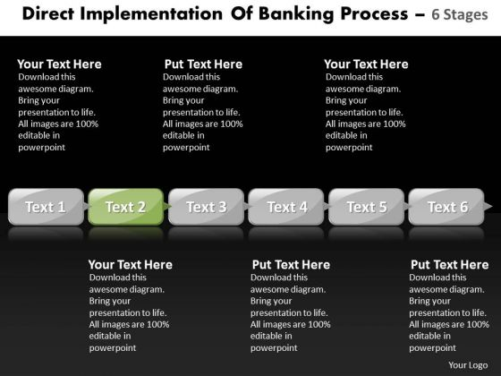 Ppt Multiple Practice The PowerPoint Macro Steps Of Banking Process Business Templates