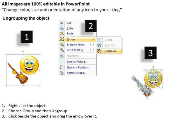 ppt_music_smiley_emoticon_with_guitar_communication_skills_powerpoint_templates_2