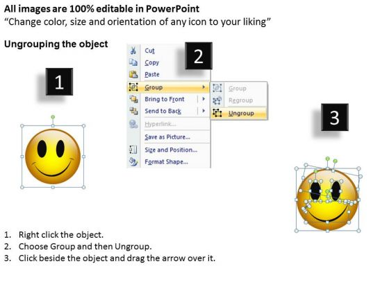 ppt_naughty_emoticon_showing_his_tongue_business_management_powerpoint_business_templates_2