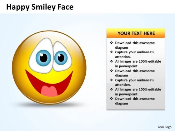 ppt_naughty_emoticon_showing_his_tongue_business_management_powerpoint_templates_1