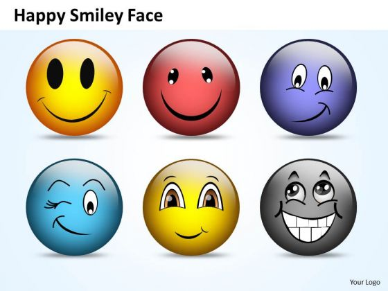 Ppt Naughty Emoticon Showing His Tongue Time Management PowerPoint Templates