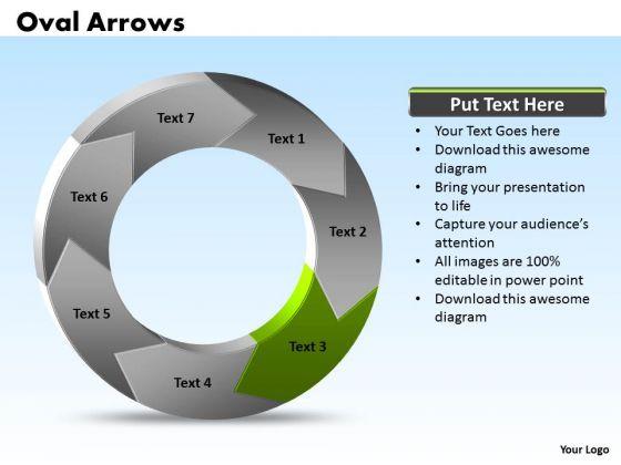Ppt Oval PowerPoint Presentation Circular Arrows 2007 Factors Templates