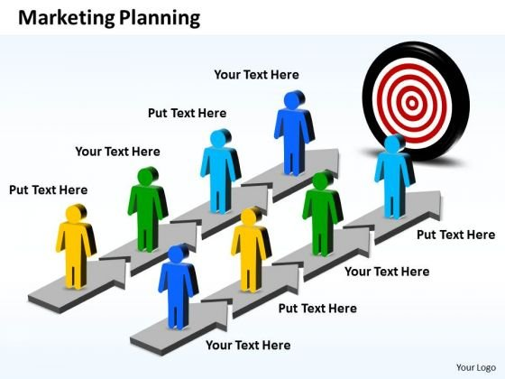 Ppt Parallel PowerPoint Slide Numbers Showing Marketing Planning Business Templates