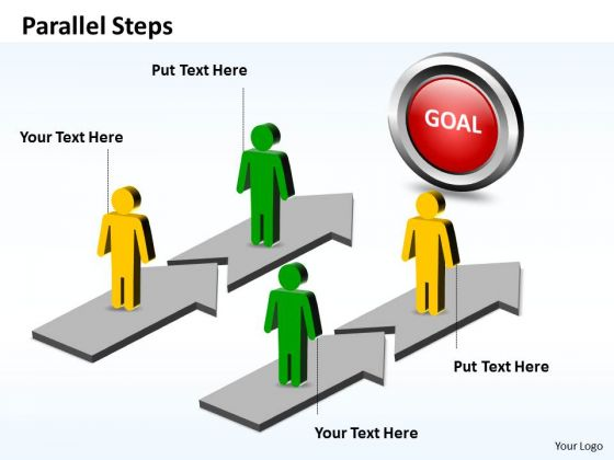 Ppt Parallel Steps Plan Defining Each Stage Of Development Business PowerPoint Templates