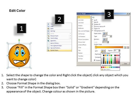 ppt_powerpoint_design_download_of_an_emoticon_showing_angry_faces_templates_3