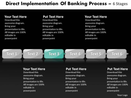 Ppt Practice The PowerPoint Macro Steps Banking Process Using Business Templates