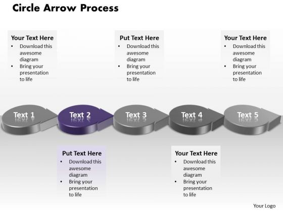 Ppt Purple Circle Arrow Nursing Process PowerPoint Presentation Flow Diagram Templates