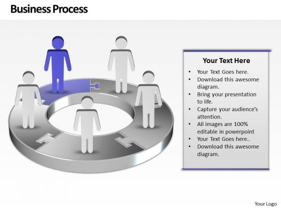 Ppt Purple Men Standing On Free Concept Pie PowerPoint Presentation Chart Templates