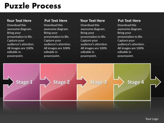 Ppt Puzzle Process Social Media Marketing PowerPoint Presentations Startegy Templates