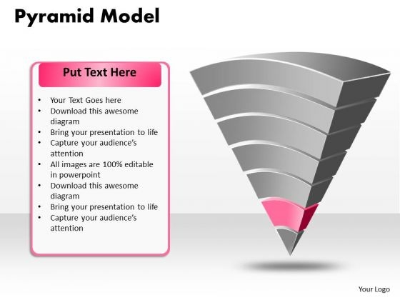 Ppt Pyramid Business Model Spider Diagram PowerPoint Template Templates