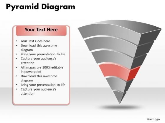 Ppt Pyramid Depiction Design PowerPoint Template Templates 2003