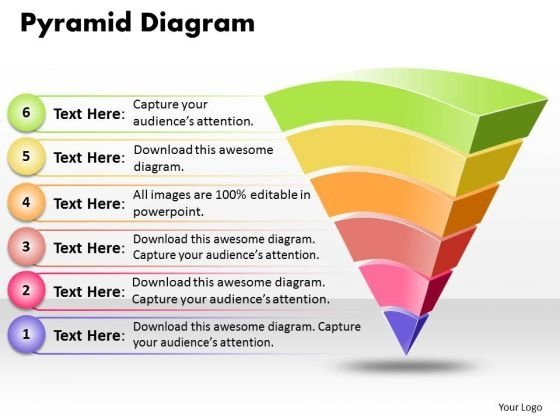 Ppt Pyramid Diagram Design PowerPoint 2007 Templates