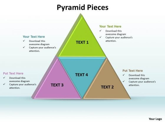 Ppt Pyramid Puzzle Pieces PowerPoint Template Or Components Templates