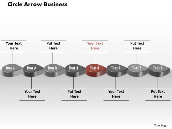 Ppt Red Circular Arrow Business Transactions Diagram Presentation PowerPoint Templates
