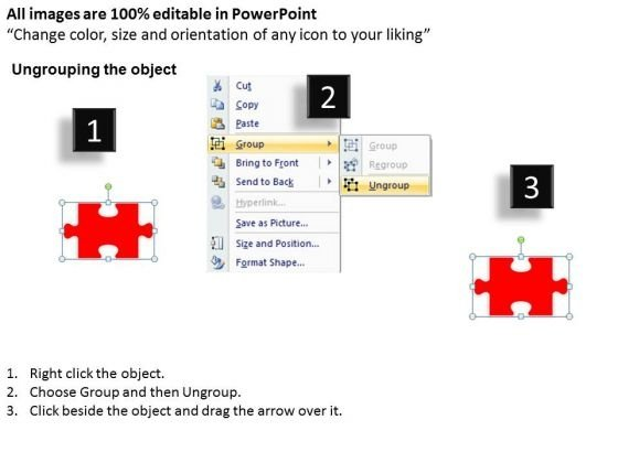 ppt_red_puzzle_pieces_in_the_form_key_business_strategy_powerpoint_business_templates_2