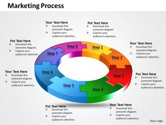 Ppt Significant Eight Create PowerPoint Macro Of Marketing Process Templates