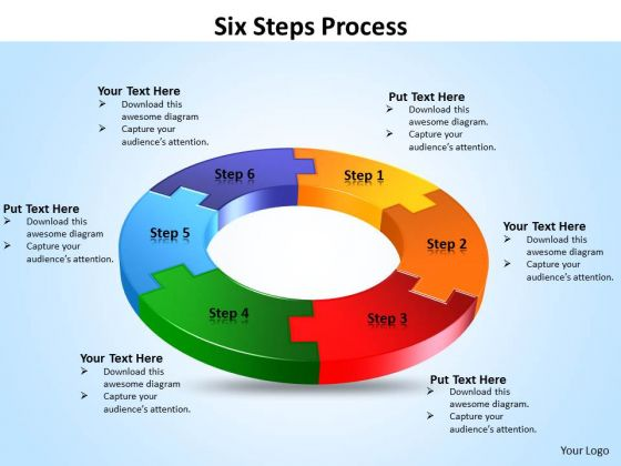 Ppt Six PowerPoint Slide Numbers Process Templates