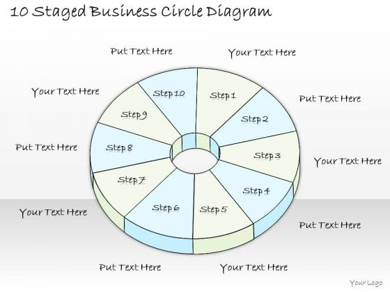Ppt Slide 10 Staged Business Circle Diagram Consulting Firms