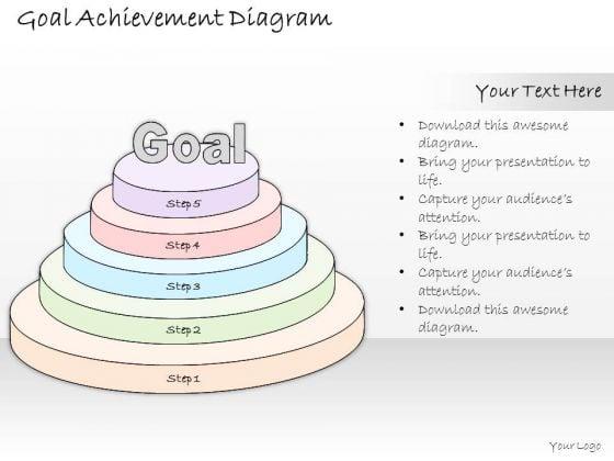Ppt Slide 1814 Business Diagram Goal Achievement PowerPoint Template Strategic Planning