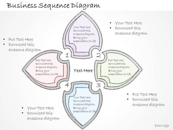 Ppt Slide 1814 Business Diagram Sequence PowerPoint Template Strategic Planning