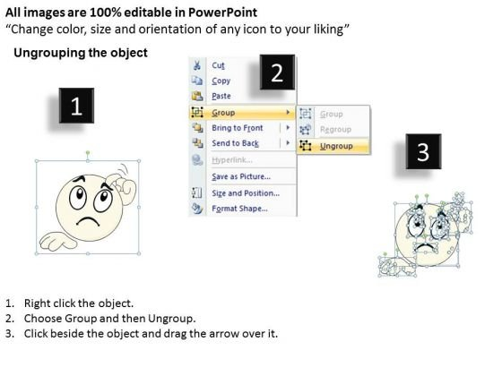 ppt_slide_1814_business_diagram_thinking_emoticon_smiley_powerpoint_template_diagrams_2