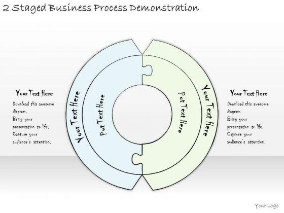 Ppt Slide 2 Staged Business Process Demonstration Diagrams