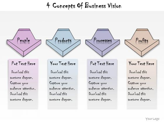 Ppt Slide 4 Concepts Of Business Vision Consulting Firms