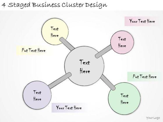 Ppt Slide 4 Staged Business Cluster Design Plan