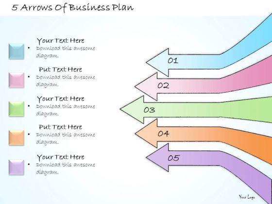Ppt Slide 5 Arrows Of Business Plan Strategic Planning