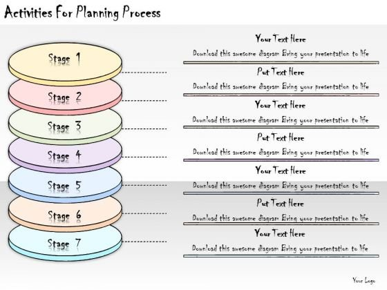 Ppt Slide Activities For Planning Process Marketing