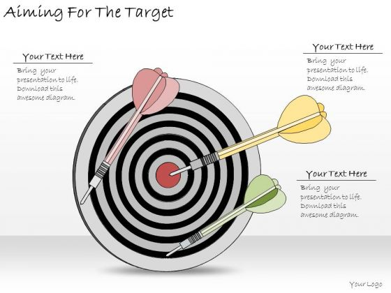 Ppt Slide Aiming For The Target Consulting Firms