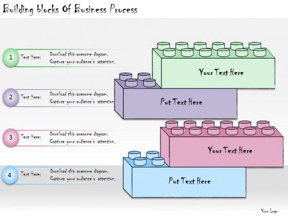 Ppt Slide Building Blocks Of Business Process Sales Plan