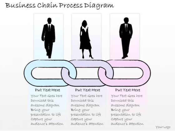 Ppt Slide Business Chain Process Diagram Strategic Planning