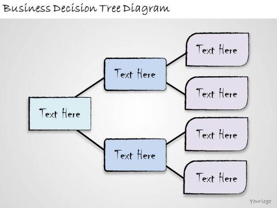 Ppt Slide Business Decision Tree Diagram Strategic Planning