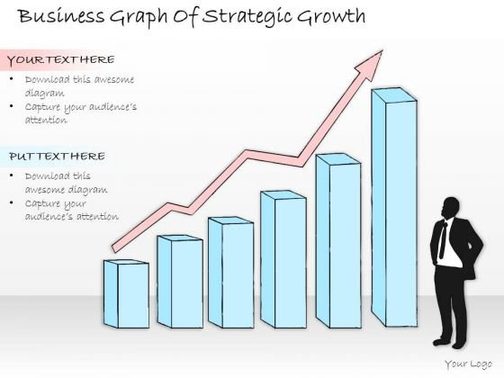 Ppt Slide Business Graph Of Strategic Growth Diagrams