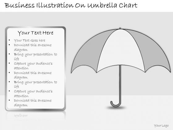 Ppt Slide Business Illustration Umbrella Chart Strategic Planning