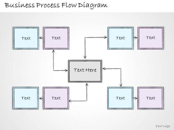 Ppt Slide Business Process Flow Diagram Plan