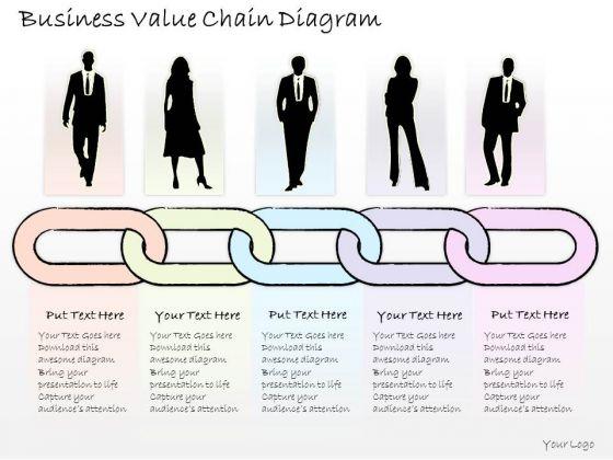 Ppt Slide Business Value Chain Diagram Strategic Planning