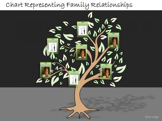Ppt Slide Chart Representing Family Relationships Business Diagrams
