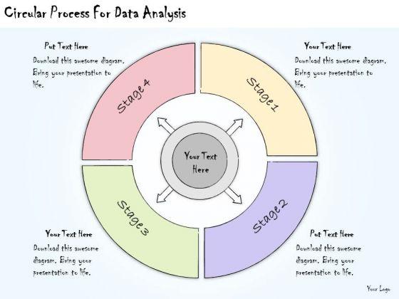 Ppt Slide Circular Process For Data Analysis Marketing Plan