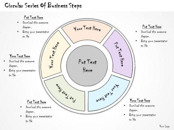 Ppt Slide Circular Series Of Business Steps Diagrams