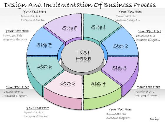 Ppt Slide Design And Implementation Of Business Process Plan