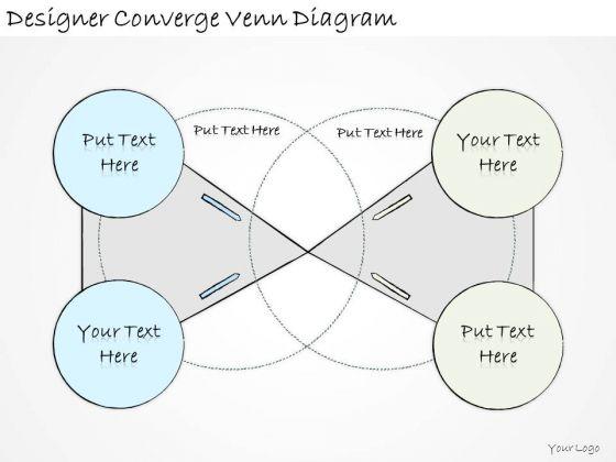 Ppt Slide Designer Converge Venn Diagram Strategic Planning