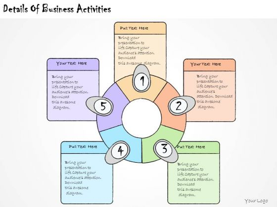 Ppt Slide Details Of Business Activities Marketing Plan
