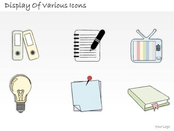 Ppt Slide Display Of Various Icons Business Plan