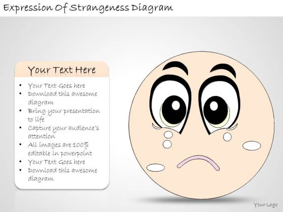 Ppt Slide Expression Of Strangeness Diagram Consulting Firms