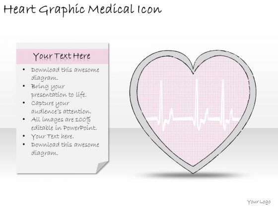 Ppt Slide Heart Graphic Medical Icon Business Diagrams