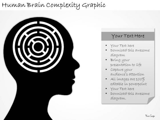 Ppt Slide Human Brain Comlexity Graphic Sales Plan