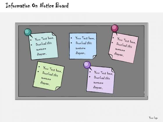 Ppt Slide Information Notice Board Business Diagrams